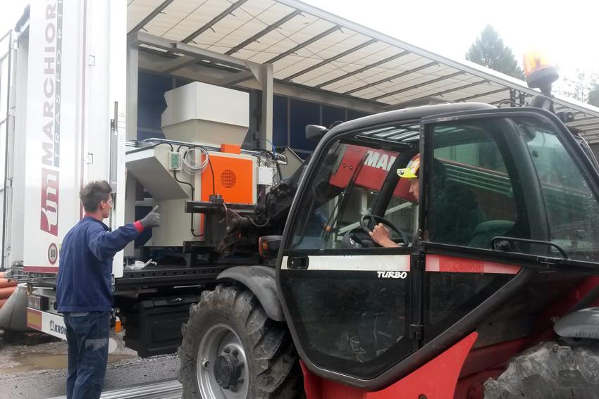 Verpackungsmaschine für Bio Heu